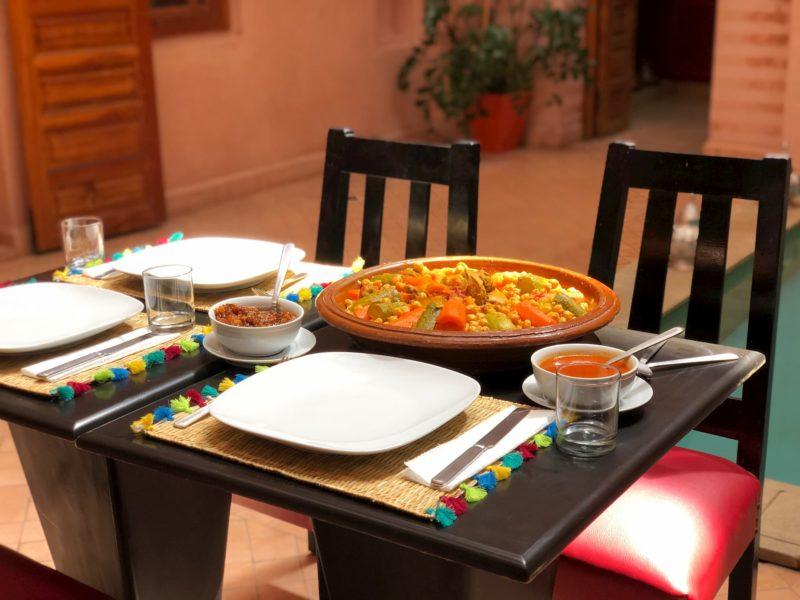 riad mazaya restaurant coscous (1)